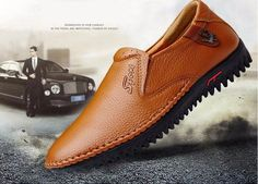 Men's High Quality Genuine Soft Leather Loafers