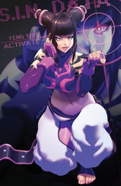 Street Fighter - Juri by Robaato *