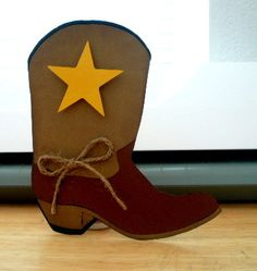 Cowboy Birthday Party invitation Cowboy boot, Cowboy Baby Shower Western. $17.50, via Etsy.
