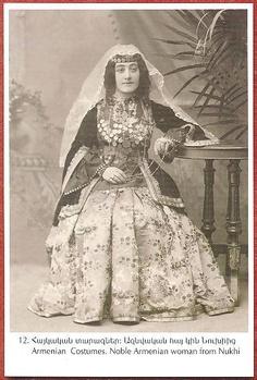 Dress of a noble Armenian lady