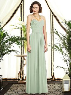 Dessy Collection Style 2896: The Dessy Group in Celadon
