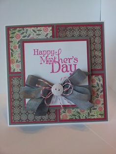 Mother's day card handmade.
