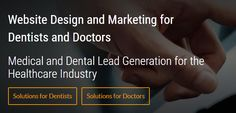 Solution21 - Solution21 Inc. is a full-service medical and dental marketing company providing services to dentists and doctors. It started by providing dental website design services more than 10 years ago and then expanded its solutions to include app design and development, SEO(search engine optimization), SEM(search engine marketing using Google AdWords), and social media marketing among other services.