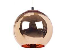 Lampada a sospensione in rame COPPER SHADE 25 Collezione Copper by Tom Dixon | design Tom Dixon