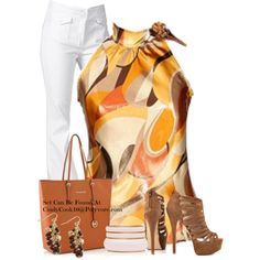 Browns, created by cindycook10 on Polyvore
