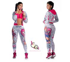 Ropa Deportiva Claudia Quintero Ref. 637-1  #RopaDeportivaMujer #ActiveWear #Fitness