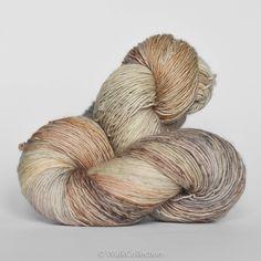 Etsy Transaction - MICA ... Delicate Merino - hand dyed yarn
