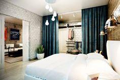 спальня в стиле лофт фото: 23 тыс изображений найдено в Яндекс.Картинках