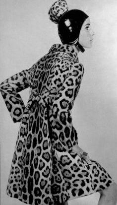 Fendi Jaguar coat by Carl Lagerfeld 1965