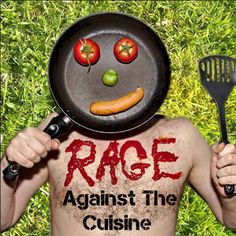 In 2012 Rage Against The Cuisine was published as an ebook. Together we can shake up the world. It'll make Gordon Ramsay look like Fanny Craddock. Feel free to like facebook.com/ragecuisine, tweet @ragecuisine, or contribute to the blog - we can set this up so your post automatically appears on twitter with a link back to your recipe on the site. Nifty. The facebook group is at facebook.com/groups/RageAgainstTheCuisine/ It's really angry, but in a polite way…