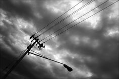 Connected - Black & White photography