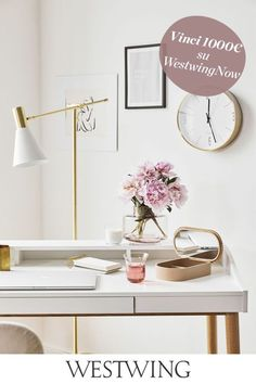 Home Office, Desk Lamp, Table Lamp, Home Living, Living Room, Two Bedroom, Decoration, Interior, Office Home