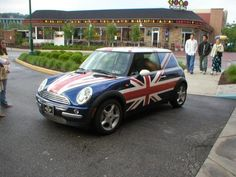 Union Jack - Mini Cooper