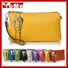 2014 New Fashion Buckle Women Genuine Leather Bags Shoulder+Messenger+Day Clutches+Wristlet Evening Multifunction Handag,CN-8008