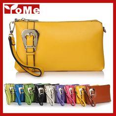 2014 New Fashion Buckle Women Genuine Leather Bags Shoulder+Messenger+Day Clutches+Wristlet Evening Multifunction Handag,CN-8008