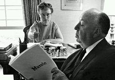Alfred Hitchcock & Alma Reville