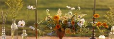 """A """"wildflower wedding"""" features many kinds of cultivated garden flowers."""