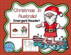 Christmas Around the World Australia Emergent Reader!:  Christmas Around the World Australia will be a great addition to your book boxes in December. Included: 8 page booklet in color and black and whiteMain Idea PrintableWriting PrintableNew Words PrintableLet the children put the book in their book boxes and practice reading for a week!
