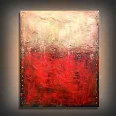 art painting original abstract steampunk palette knife by mattsart, $350.00