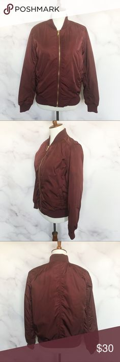 377d2f0dc Old Navy | Burgundy Puffer Jacket Old Navy Women's Burgundy Puffer Jacket  Size Small New with