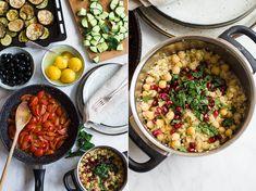 Midden-Oosters bulgur salade - lekker en gezond, met een heleboel veggies!