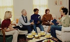 Chapter and converse: people enjoy healthier lives if they maintain social bonds after they retire.