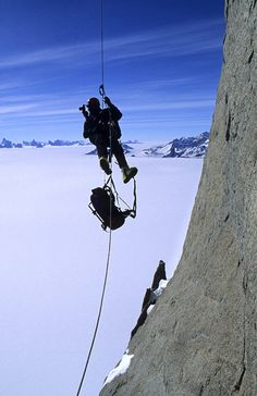 Camping Extreme e fotografias escalada por Gordon Wiltsie