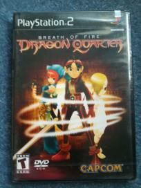 Brand New Sealed Breath of Fire: Dragon Quarter for PS2 free shipping