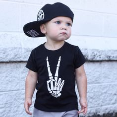 ✌🏼️Ryder is too cool in his   Peace of Me   tee! You can find this item and more at www.habitthreads.com 😎