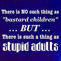 Stupid…