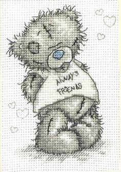 Always Friends - Tatty Teddy Cross Stitch Kit