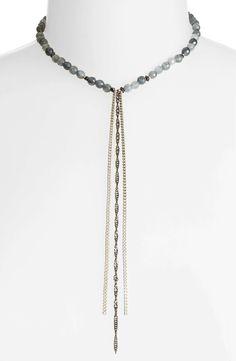 Main Image - Nakamol Design Chain Tassel Necklace