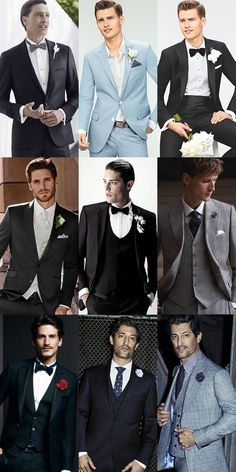 Your wedding day is one of the most important days of your life - so you better look good. Our comprehensive guide to groomswear breaks down the 4 main options you have when it comes to wedding attire, from traditional morning coats and formal dinner jackets to more contemporary three-piece suits and smart-casual separates.