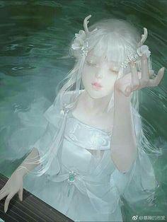 Manga Girl, Anime Art Girl, Aho Girl, Art Noir, Character Art, Character Design, 5 Anime, Kawaii Girl, Chinese Art