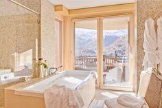 Chalet Grace Zermatt Les murs