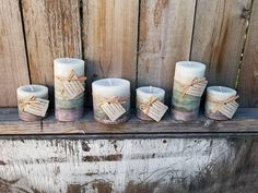 Molten Spark Scented Designer Gray Round Pillar Candles - Spicy Citrus Scented Candles  Check out this item in my Etsy shop https://www.etsy.com/listing/577503616/molten-spark-scented-designer-gray-round