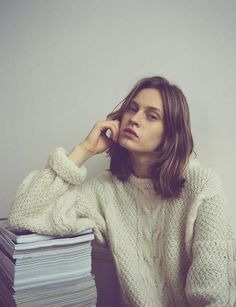 I think a cable knit jumper is the most versatile garment. Throw it on with a skirt, jeans and shorts or over a dress, with thick tights in winter or bare legs on chilly spring days <3