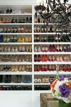 d77234deffcc a little slice of Heaven ♡♡♡ Dressing Room, Shoe Rack, Design Ideas