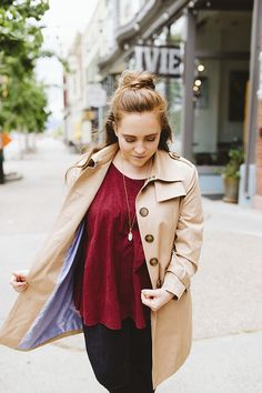 Women Trench Coat looks for you Beige Trench Coat, Cute, Jackets, Color, Women, Style, Fashion, Down Jackets, Swag