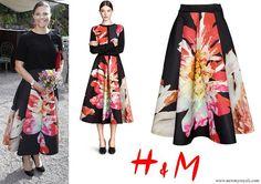 H&M Flower Bell-Shaped Skirt 22-5-2017