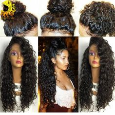 DescriptionThis is Brazilian Full Lace Human Hair Wigs. Its 100% Brazilian Hair Lace Front Wig,Virgin Human Hair Full Lace Wigs,comfortable, Soft And Smooth. It