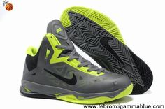 Buy Cheap 536845-003 Nike Zoom Hyperchaos X Cool Grey Green Black Fashion Shoes Shop