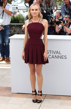 e23e64b56ded Diane Kruger Cannes Film Festival Lookbook
