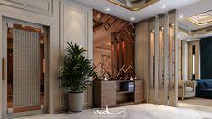 Partition Design, Tv Wall Design, Foyer Design, Hall Interior, Home Interior Design, Neoclassical Interior Design, Dubai, Living Room Designs, Luxury Homes