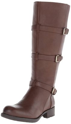 Franco Sarto Women's L Petite Wide Calf Motorcycle Boot ** Unbelievable outdoor item right here! : Ladies boots