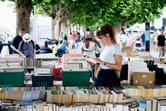 Southbank Second-Hand and Antique Book Market in London
