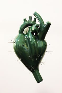 Osmeli Delgado | Heart Sculptures
