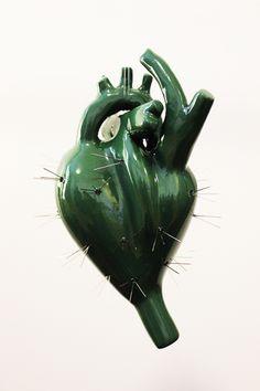 Osmeli Delgado | Heart Sculptures