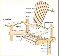 Diy wood chaise lounge chairs lounge chair plans free for Chaise adirondack bois