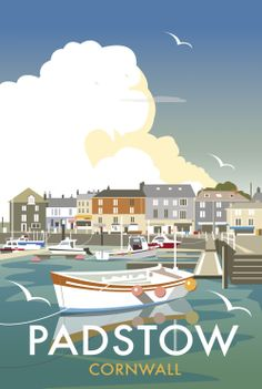 Padstow Quay (DT01F) Beach and Coastal Print by Dave Thompson http://www.thewhistlefish.com/product/dt01f-padstow-quay-framed-art-print-by-dave-thompson #padstow #cornwall